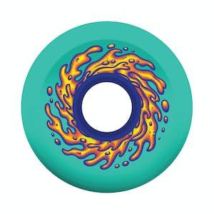 Santa Cruz Slime Balls 60mm Skateboard Wheels - Green