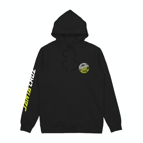 Santa Cruz Keyline Dot Solar Youth Hoodie - Black