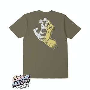 Santa Cruz Screaming Hand Solar T-Shirt - Covert