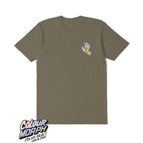Santa Cruz Screaming Hand Solar T-Shirt - Covert