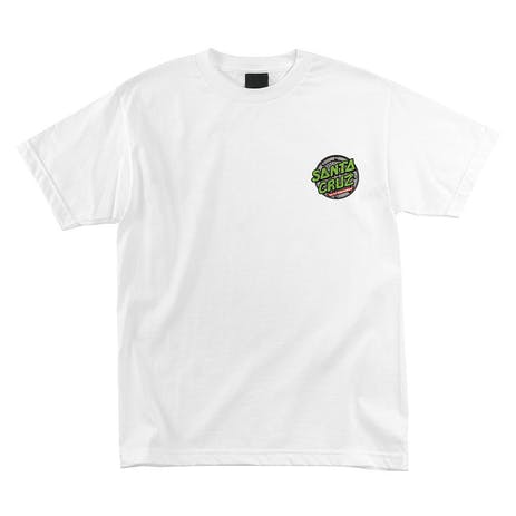 Santa Cruz x TMNT Sewer Dot T-Shirt - White