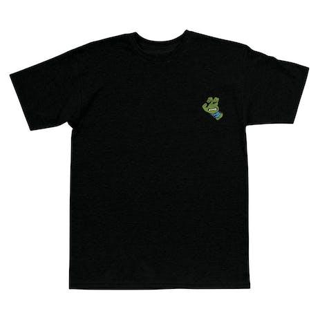 Santa Cruz x TMNT Turtle Hand T-Shirt - Black / Blue