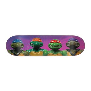 "Santa Cruz x TMNT Figures 8.5"" Skateboard Deck - Everslick"