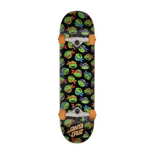 "Santa Cruz x TMNT Allover Turtle 8.0"" Complete Skateboard"