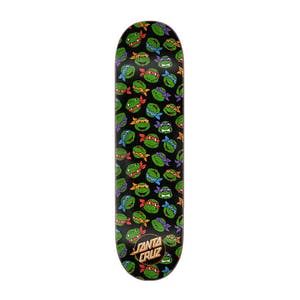 "Santa Cruz x TMNT Allover Turtle 8.25"" Skateboard Deck"