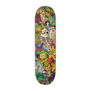 "Santa Cruz x TMNT Crew 8.0"" Skateboard Deck - Everslick"