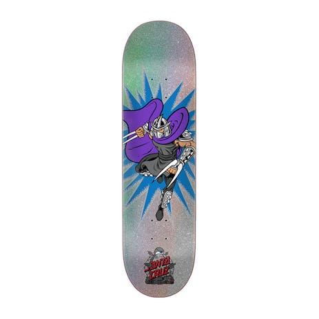 "Santa Cruz x TMNT Shredder 8.0"" Skateboard Deck"