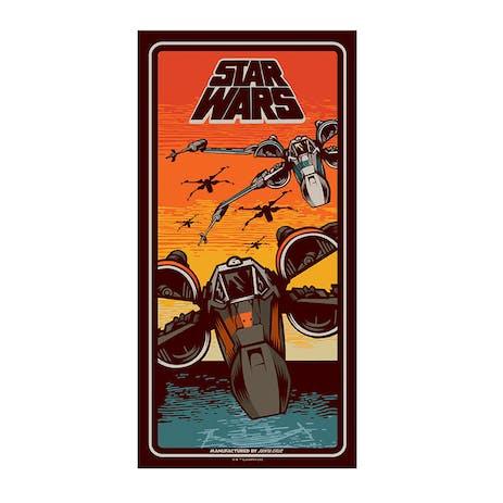 "Santa Cruz x Star Wars Episode VII Poe Dameron 8.375"" Skateboard Deck"