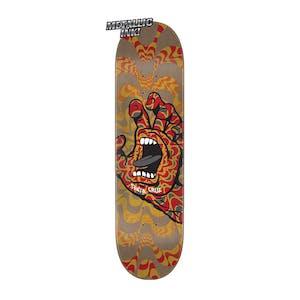 "Santa Cruz Kaleidohand 8.6"" Skateboard Deck"