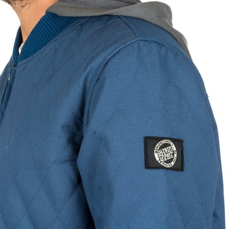 Santa Cruz Loco Bomber Jacket - Indigo