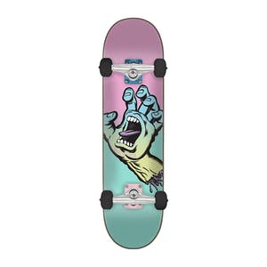 "Santa Cruz Pastel Screaming Hand 6.75"" Complete Skateboard"