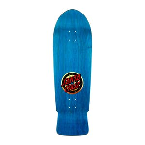 "Santa Cruz Roskopp Target II Re-Issue 10.0"" Skateboard Deck - Blue"