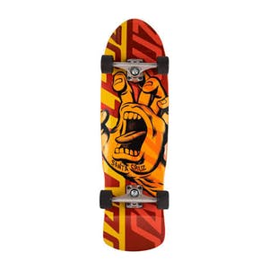 "Santa Cruz Screaming Hand Overlay 9.42"" Complete Skateboard"