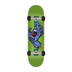 "Santa Cruz Screaming Party Hand 7.75"" Complete Skateboard"