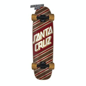 "Santa Cruz Street Skate Metallic 8.4"" Cruiser Skateboard"