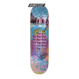 "Santa Cruz Til The End 8.5"" Skateboard Deck - Everslick"
