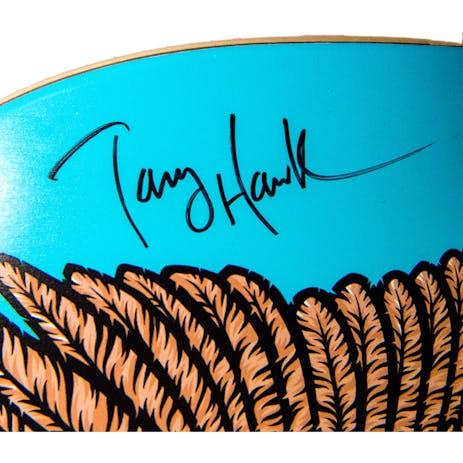 "Birdhouse Fowl 8.125"" Skateboard Deck - Signed by Tony Hawk"