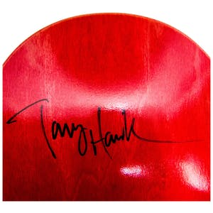 "Birdhouse Knight 8.38"" Skateboard Deck (#1) - Signed by Tony Hawk"