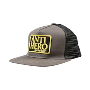 Antihero Reserve Patch Trucker Hat - Grey/Black