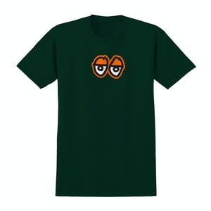Krooked Eyes T-Shirt - Forest Green