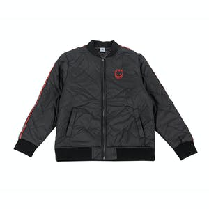 Spitfire Bighead Bomber Jacket - Black/Red