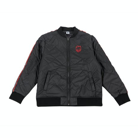 Spitfire Bighead Bomber Jacket - Black/Red
