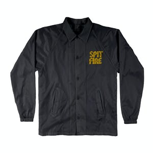 Spitfire Clean Cut Jacket - Black/Yellow