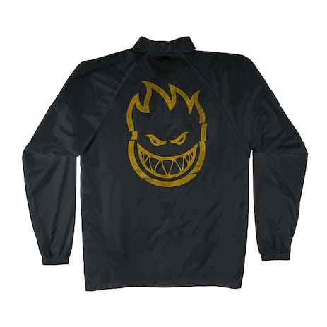 Spitfire Clean Cut Jacket - Black/Yellow