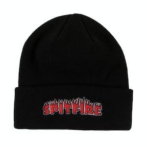 Spitfire Flash Fire Beanie - Black/Red