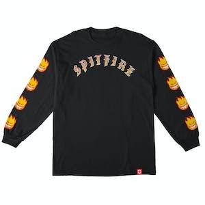 Spitfire Old E Bighead Fill Long Sleeve T-Shirt - Black