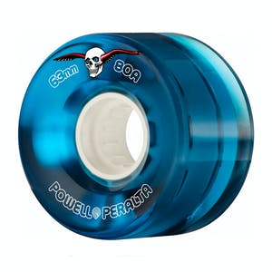 Powell-Peralta Clear Cruiser Skateboard Wheels - Blue