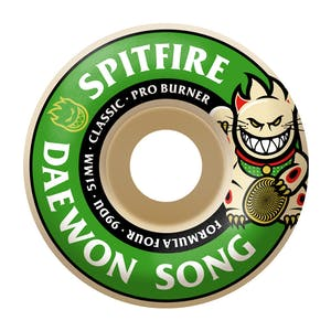 Spitfire Daewon Burner Formula Four 99D 52mm Skateboard Wheels