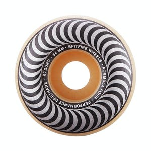 Spitfire Classic Swirl Formula Four 97D 54mm Skateboard Wheels - Metallic
