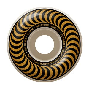 Spitfire Classic Swirl Formula Four 101D 50mm Skateboard Wheels - Bronze
