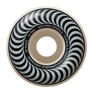 Spitfire Classic Swirl Formula Four 99D 54mm Skateboard Wheels - Metallic