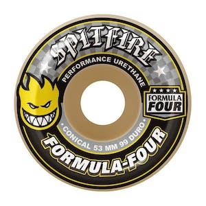 Spitfire Conical Formula Four 99D Skateboard Wheels