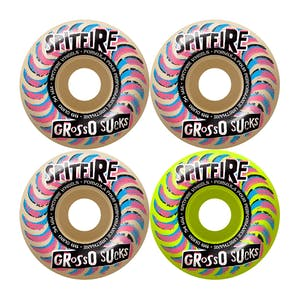 Spitfire Grosso Classic Formula Four 99D 58mm Skateboard Wheels - Mashup