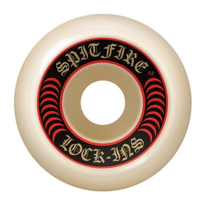 Spitfire Lock-Ins Formula Four 101D 52mm Skateboard Wheels