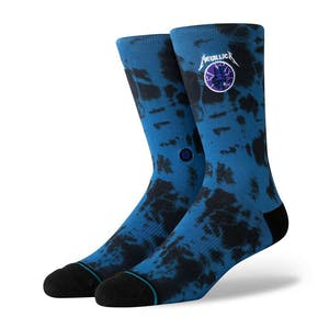 Stance Metallica Ride the Lightning Crew Socks - Royal