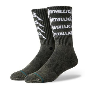 Stance Metallica Stack Crew Socks - Black