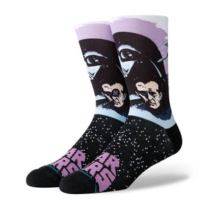Stance Star Wars Crew Socks - Darth Vader/Purple