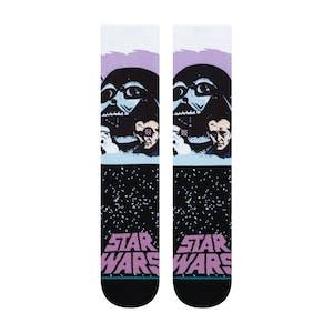 Stance Star Wars Crew Socks - Darth Vader/Purple
