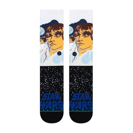 Stance Star Wars Crew Socks - Luke/Blue