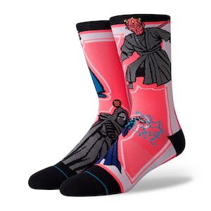 Stance Star Wars Crew Socks - Sith/Black