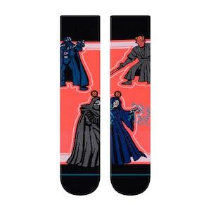 Stance Star Wars Crew Socks - Sith/Black