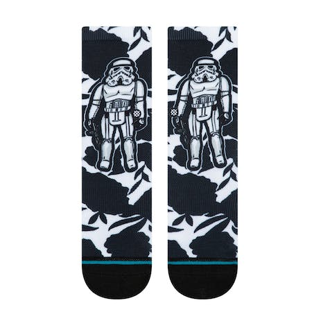 Stance Star Wars Kids Crew Socks - Floral Trooper