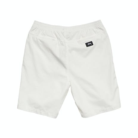 Stussy Brushed Beachshort - White