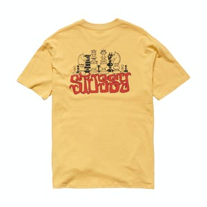 Stussy Chess T-Shirt - Butter