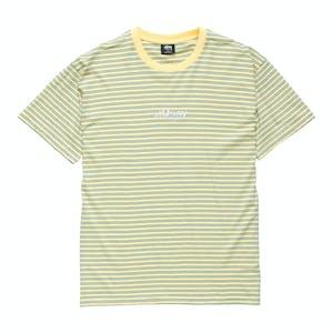 Stussy Designs Yarn Dye T-Shirt - Lemon