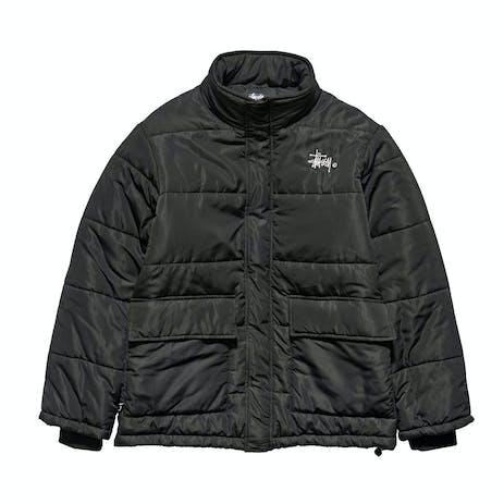Stussy Falls Puffer Jacket - Black